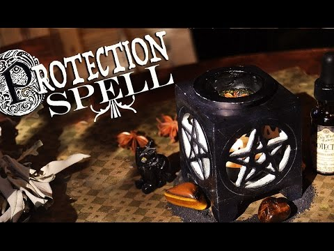 Simple Protection Spell. Spiritual DIY~ The White Witch Parlour
