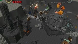 getlinkyoutube.com-LEGO Lord Of The Rings - How to get Sauron and the Mouth of Sauron? (+Bonus Level)
