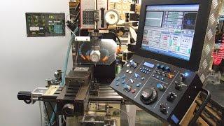 getlinkyoutube.com-Homemade CNC Milling machine 自作 CNC フライス盤 DIY