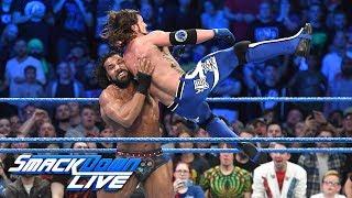 Jinder Mahal vs. AJ Styles - WWE Championship Match: SmackDown LIVE, Nov. 7, 2017 width=