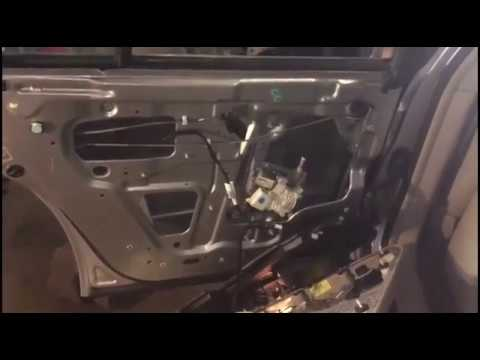 How to install rear window glass 2006 Cadillac DTS