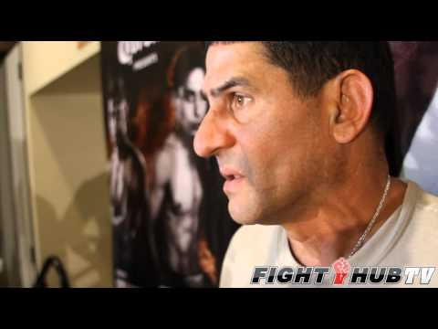 "Angel Garcia "" No rematch! Danny knocked him out!"""