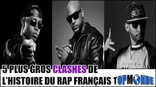 Top 5 des plus gros clashes de l'histoire du rap français
