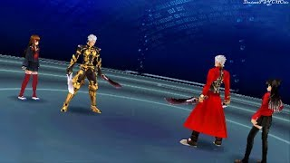 getlinkyoutube.com-Fate EXTRA CCC (Archer)★Ch 7 pt 9 ~ Archer Vs Archer  ★Lets Play PSP
