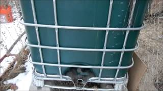 getlinkyoutube.com-Outdoor Water Storage For Cold Weather Climates!!!