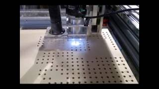 getlinkyoutube.com-How to make a PVC CNC vacuum table