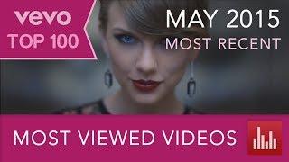 getlinkyoutube.com-VEVO's 100 Most Viewed Music Videos (May 2015)