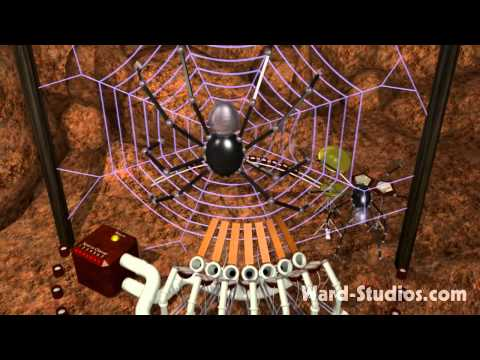 Steampunk Spider Band performs Electrorachnid Soda Pop - Animusic style Animated Music Video