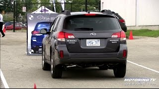 Putting Subaru's EyeSight technology to the test