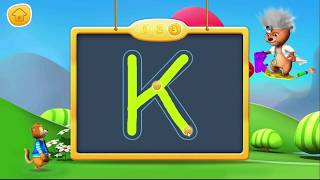 getlinkyoutube.com-ABC SONG and Learn to write Letter from A to Z | How To writing Alphabet