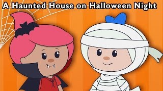 getlinkyoutube.com-Monster Party | A Haunted House on Halloween Night and More | Baby Songs from Mother Goose Club!