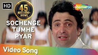 Sochenge Tumhe Pyaar Kare Ke Nahi (HD) - Deewana Song - Rishi Kapoor - Divya Bharti - Filmigaane