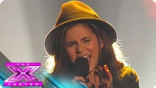 "getlinkyoutube.com-Carly Rose Sonenclar's ""Rolling in the Deep"" - THE X FACTOR USA 2012"