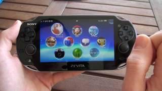 getlinkyoutube.com-Premier démarrage de la PS Vita (Wi-Fi + 3G)