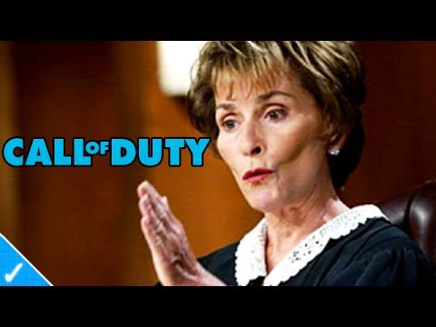 The Celeb Gamer - Judge Judy plays black ops