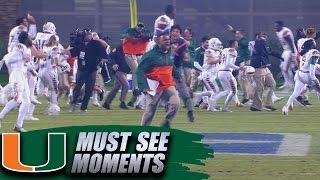 getlinkyoutube.com-Miami 8-Lateral Touchdown Beats Duke on Wild Final Play