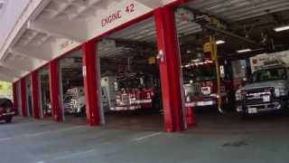 getlinkyoutube.com-Chicago Fire Department Fire Call - DOWNTOWN CHICAGO, IL
