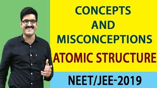 Concepts And Misconceptions Of Atomic Structure l NEET/JEE-2019 width=