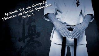 Técnicas de Karate Kyokushin com o Sensei Wagner Xavier - Parte 1