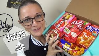 ASSAGGI DAL MONDO #6: UNBOXING Snack Koreani (collab. Treats)