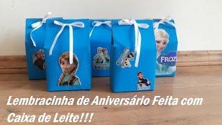 getlinkyoutube.com-Lembrancinha de Aniversário Feita com Caixa de Leite / Por Carla Oliveira