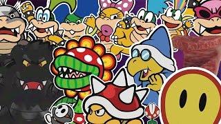 getlinkyoutube.com-All Boss Battles - Paper Mario: Color Splash Walkthrough
