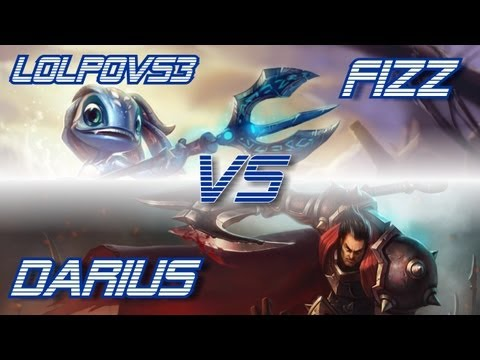 ► LoLPoV - Fizz vs Darius [Top] (League of Legends Live Commentary)