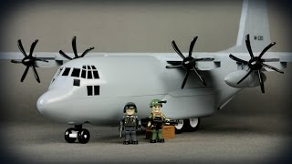 getlinkyoutube.com-COBI C-130 Hercules (2606) - recenzja