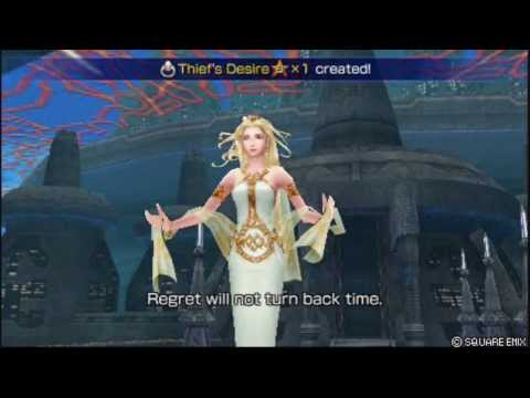 Dissidia 012 - Ultimecia/Cosmos Vs Onion, Bartz and Zidane