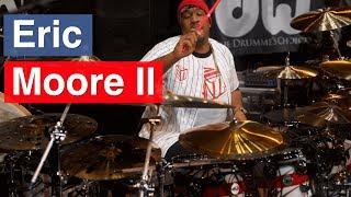 Eric Moore II - PASIC17 (Opening Drum Solo) width=