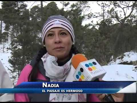 Paisaje nevado en Paso de Cortés