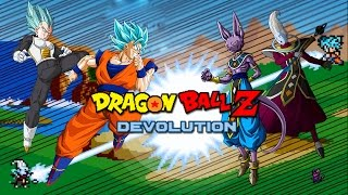 getlinkyoutube.com-Dragon Ball Z Devolution: SSJGSSJ Goku & SSJGSSJ Vegeta vs. Lord Beerus & Whis!