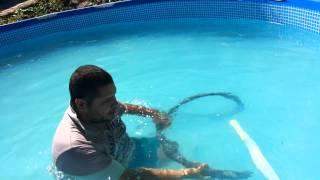 getlinkyoutube.com-Aspirador de piscina caseiro