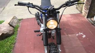 getlinkyoutube.com-Honda Cb 125 Street Tracker #1