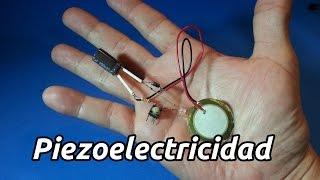 Generador de Energía Piezoeléctrico