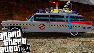 getlinkyoutube.com-GTA IV - The GhostBusters ECTO-1