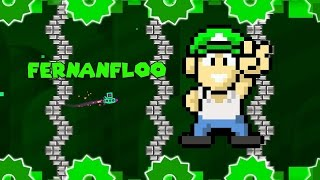 getlinkyoutube.com-MI PROPIO NIVEL !! - Geometry Dash 2.0 | Fernanfloo