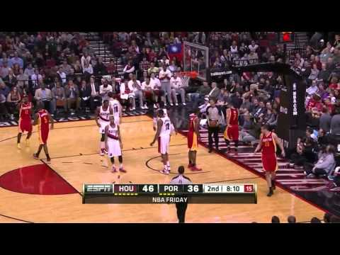 [April 5, 2013] Jeremy Lin - 22 Points, 8 Assists Full Highlights vs Portland Trail Blazers