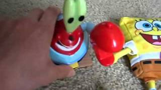 getlinkyoutube.com-Assorted Talking SpongeBob Toys