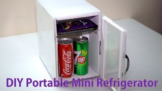 getlinkyoutube.com-DIY Portable Mini Refrigirator