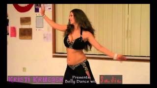 getlinkyoutube.com-Bellydancer gets FAT