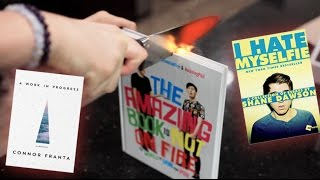 getlinkyoutube.com-1000 degree KNIFE vs YOUTUBER BOOKS