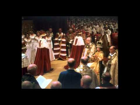 Queen Elizabeth II Crowned - Part 1 - the Crowning Moment