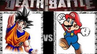 Goku Vs Mario Death Battle