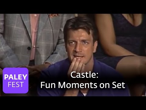 Castle - Nathan Fillion on Fun Moments on Set (Paley Center, 2010)