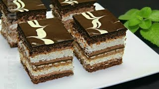 getlinkyoutube.com-Prajitura de vis cu nuca si ciocolata | Adygio Kitchen