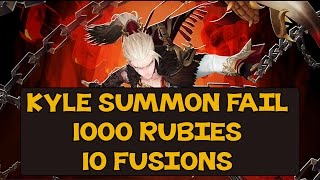 getlinkyoutube.com-Seven Knights - KYLE SUMMONING FAIL, 1000 RUBIES & 10 FUSIONS ~ !