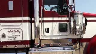 getlinkyoutube.com-Paul Saline 2009 Kenworth W900L / Looking good at the 2013 Truckers Jamboree