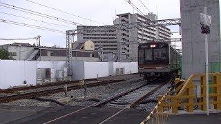 getlinkyoutube.com-阪急千里線・淡路駅付近の仮線切替工事完了