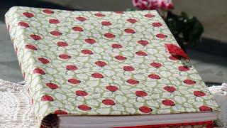 getlinkyoutube.com-#DIY Porta caderno em tecido (cartonagem) - Passo a passo